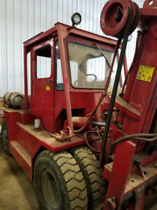 15 000lb Taylor Air Tired Forklift For Sale