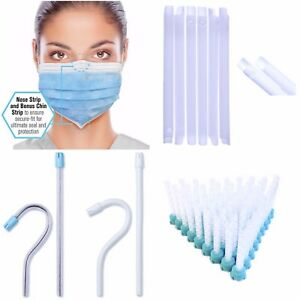 Suction 2 Types Face Masks Mixing Tips Green 6 5mm Dental Set Of 4 Tools