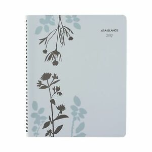 At a glance Weekly Monthly Appointment Book Planner 2017 8 1 2 X 11 Bota