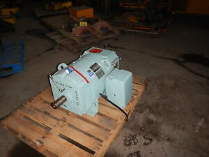 60 Hp Dc General Electric Motor 1750 Rpm 366at Fame Dpfv 500 V