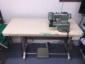 Lewis Union Special 150 5 Blind Stitch Hemmer Sewing Machine W Motor