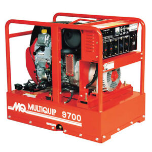 Multiquip Ga97hea 9700 watts 16 6 hp 240 volt Brushless Gasoline Generator