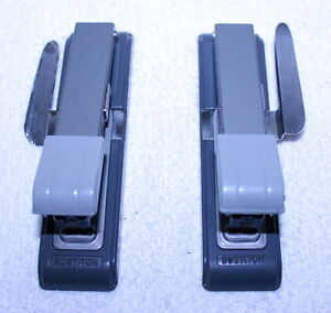 2 Vintage Bostitch B8 Staplers Built In Staple Remover Mid Century Machine Age