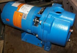 New Goulds 1 1 2 Self priming Irrigation Centrifugal Pump 3 4 Hp Gt073