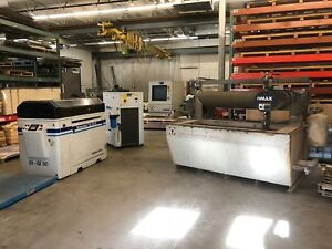 1999 Omax 2652 Waterjet Cutting Cnc Fabrication Ref 7792401