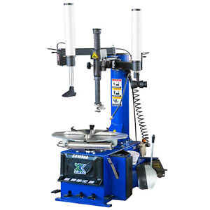 Lankistr 988 Tire Changer Wheel Changer Machine 110v With Auxiliary Arm 12 24