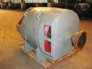 480 Kw General Electric Dc Generator 1175 Rpm 6583 Frame Dp 500 V