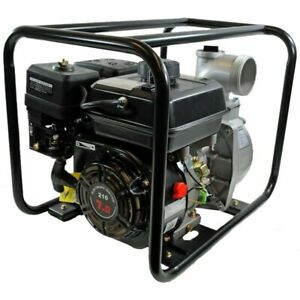 Shop4omni 4 stroke 220 Gpm 3 Inch 7 Hp Gas Powered Portable Water Pump