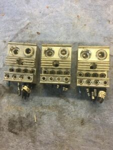 Terminal Block 97730 500 Mcm 4 Cu7al 2 0 14 Used Lot Of 3