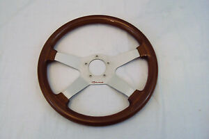 Steering Wheel Wood And Aluminum Dino Sports Car Custom Race Car Vintage Ferrari
