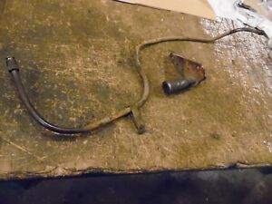 Allis Chalmers Wd45 Diesel Farm Tractor Rear Hydraulic Outlet Line Assembly