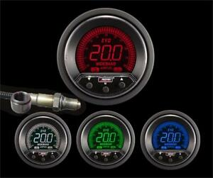 60mm 2 3 8 Premium Evo Digital Afr Wideband Kit Red Blue Green White
