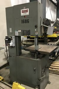 Dake Parma Trademaster Vertical Band Saw 2092