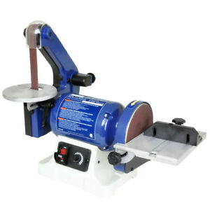 Rikon 50-161VS 1-Inch x 30-Inch Variable Speed Induction BeltDisc Bench Sander