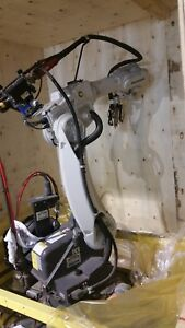 Panasonic Tawers Ta1600 Robotic Welding System With Additional 7th Axis