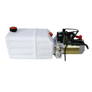 High Quality Double Acting Hydraulic Pump12v Dump Trailer 6 Quart 3200 Psi Max