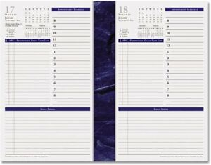 Two Page Per Week Planner Refill 2018 W Inspiring Quotes Daily Notes Pages New