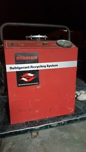 Robinair 17150a Refrigerant Recovery Recycling Machine With Five Bottles