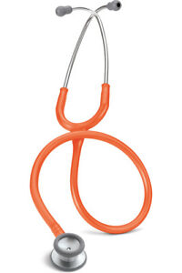 Littmann Classic Ii S e Pediatric Stethoscop In Orange Steel Finish L2155 Org