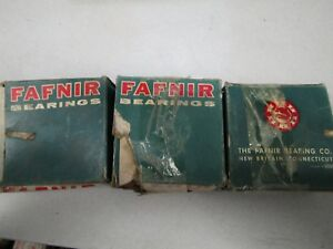 Lot Of 3 New Fafnir Rcj 1 7 16