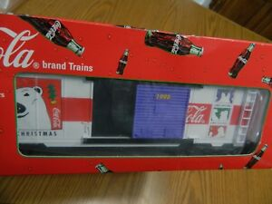 K-Line 1998 Coca-Cola K641-5106 Christmas Car - Brand New