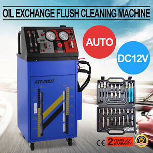 Atf 20 Auto Gearbox Transmission Fluid Oil Exchange Flush Cleaning Machine 60psi