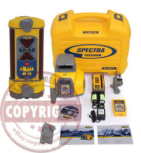 Spectra Precision Gl422n Lr30 Self leveling Dual Slope Laser Level trimble