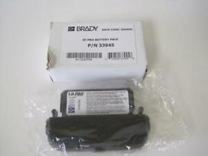 Brady Id Pro battery Pack P n 33945 Nickel Cadmium New In Box