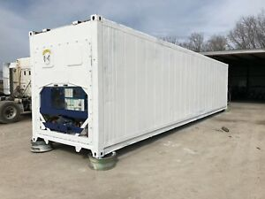 40ft High Cube Refrigerated Shipping Container Houston