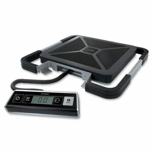 Postal Scale Mailroom Dymo Pelouze 250lb Digital Usb Shipping Scale Silver black