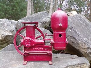 Antique Vintage Deming Marvel Piston Pump Hit Miss Engine Era Steampunk Lamp