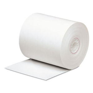 Pm Company Direct Thermal Printing Thermal Paper Rolls 3 1 8 X 290 Ft White 50