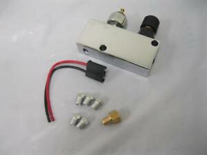 Adjustable Brake Proportioning Valve With Distribution Block Chrome Aluminum