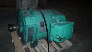 250 Hp Us Dc Electric Motor 1750 Rpm 504at Frame Dpfv 500 V