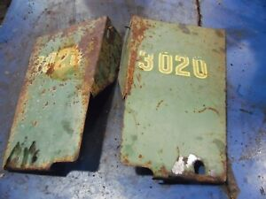 1965 John Deere 3020 Gas Farm Tractor Rear Side Panels