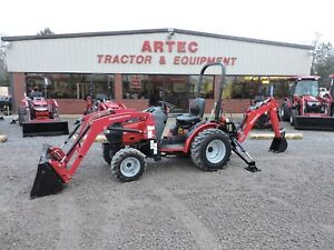 2016 Mahindra Max 26xl Tractor With Loader Backhoe Deere Kubota 4x4