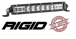 Rigid Industries Sr series Pro 10 Led Light Bar Spot Driving Black Body