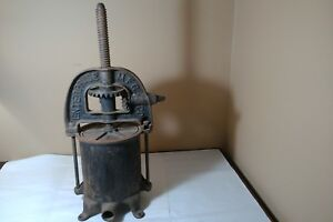 Antique Enterprise Mfg Co Pat 1876 Sausage Stuffer Juicer Lard Press