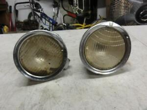 2 Vintage Nash Cowl Lights Hot Rat Rod