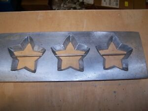 Star Cookie Die Commercial Dough Depositor Believed Champion 16x5 5 Inches