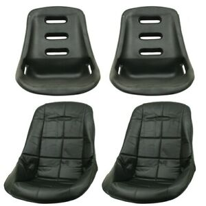 Low Back Poly Seat Shells With Black Seat Cover Dunebuggy Vw