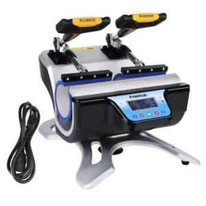 New Automatic Double Mug Heat Press St 210 Sublimation Transfer Printing