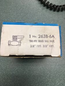 Valve 3 8 Female Ball 2way Imperial 263b 6a