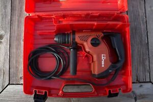 Hilti Te 7 Sds Plus Rotary Hammer Drill W Hard Case Exc Cond