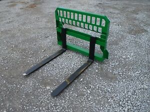 John Deere Tractor Attachment 42 Pallet Forks 200 300 400 500 Ship 199