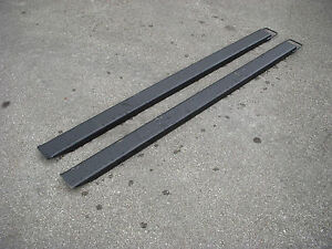 Bobcat Kubota Skid Steer Attachment 72 Pallet Fork Extensions Free Shipping