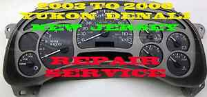 Gmc Gm Denali Software And Odometer Calibration Repair Service 2003 2006