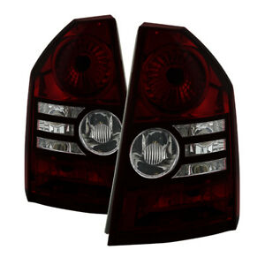Jdragon Chrysler 2008 2010 300 Red Smoke Replacement Tail Lights Limited Touring
