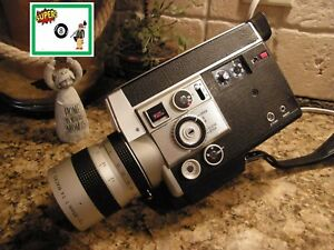 working canon 814 auto electronic super 8