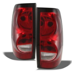 Jdragon Chevy 2003 2006 Silverado 2007 Classic Replacement Tail Lights 1500 2500